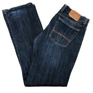 Lucky Brand Penelope Sundown Straight Jeans
